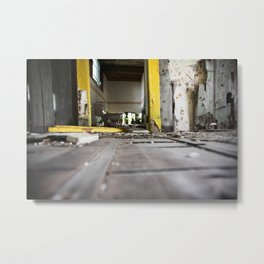 Once a Living Room, Lower Ninth Ward Metal Print