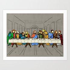 Cenaculum -Last Supper Art Print