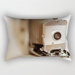 Polaroid 800 vintage camera Rectangular Pillow