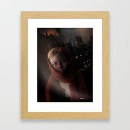 Karen,Portrait of an actress Framed Art Print