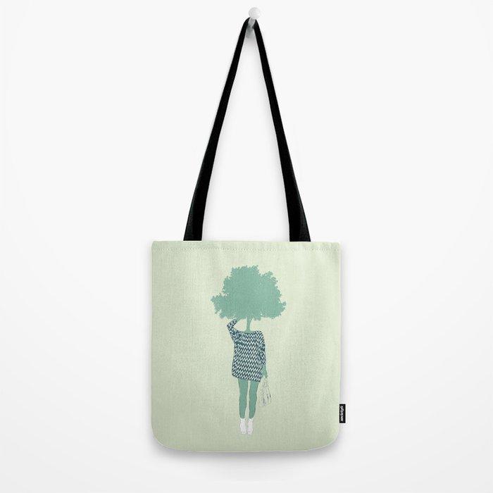 Woman Nature 6 Tote Bag