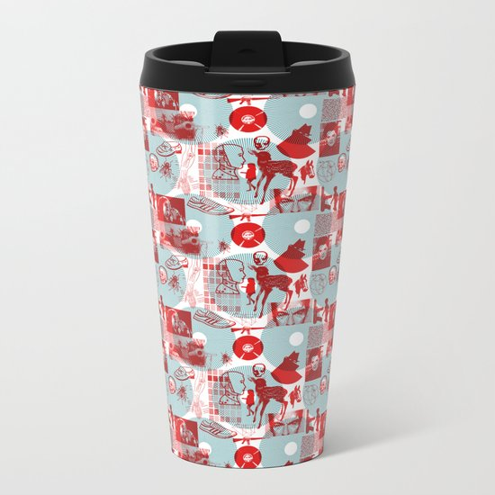 Neighborhood Watch Metal Travel Mug