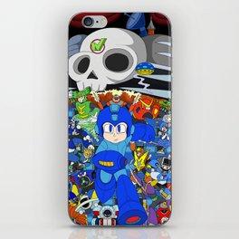 Fight Mega Man, For Everlasting Peace! iPhone Skin
