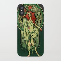zombie iPhone & iPod Cases featuring Zombie Nouveau by Megan Lara