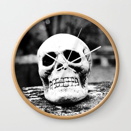 Graveyard horror Wall Clock