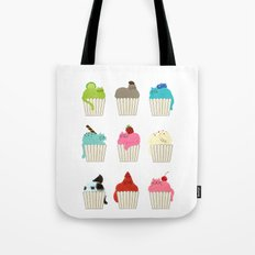 Cup-Cat Flavors Tote Bag