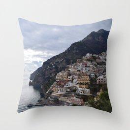 positano Throw Pillow