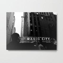 NEW YORK//RADIO CITY MUSIC HALL Metal Print