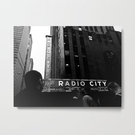 NEW YORK//RADIO CITY MUSIC HALL Metal Print