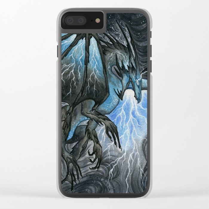Storm Bringer Clear iPhone Case