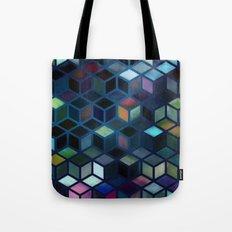 Pastel Boxes Blue Tote Bag