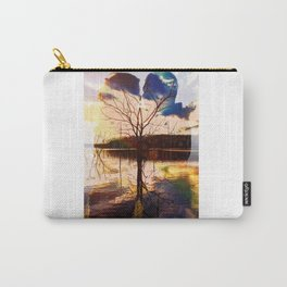 Double Exposure Love Carry-All Pouch