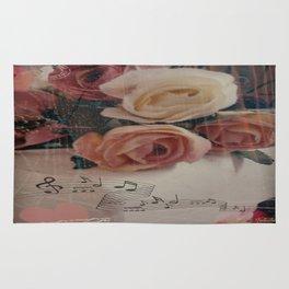 Roses & Music ... Rug