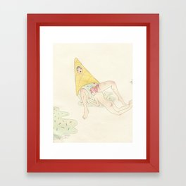 Ice Scream Framed Art Print