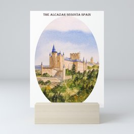 The Alcazar Segovia Spain Mini Art Print