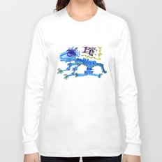 The Blue Cat Long Sleeve T-shirt