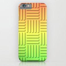 Basket Weave - Summer Colors iPhone 6s Slim Case