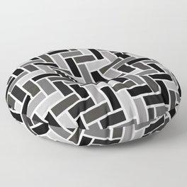 Monochrome Paving Floor Pillow