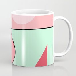 Happy Place - Coral Mint Coffee Mug
