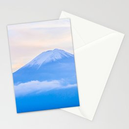 pastel mountain #sky Stationery Cards