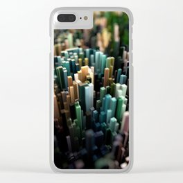 Abstract Topography - Paris Clear iPhone Case