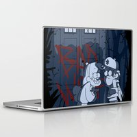 gravity falls Laptop & iPad Skins featuring Bad wolf in gravity falls by Tonz