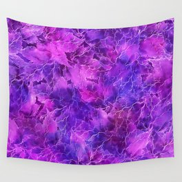 Frozen Leaves 26 Wall Tapestry