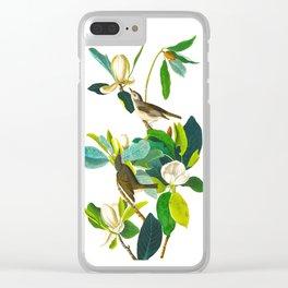 Warbling Flycatcher Bird Clear iPhone Case