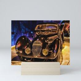 Vintage 1937 Talbot Lago T150-C SS Coupé aérodynamique 'Goutte d'Eau' Mini Art Print