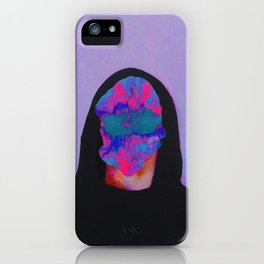 The child who feels very much iPhone Case