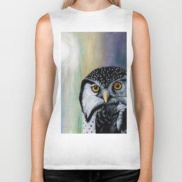 Day Lover Owl Biker Tank