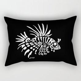 Lionfish - marine fish - pterois - tatoo Rectangular Pillow