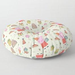 Peppa Pg Pattern 01 Floor Pillow