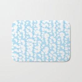 Butterflies Blue Bath Mat