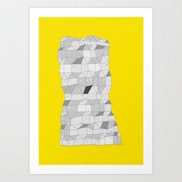 Neighborhood Print Art Print