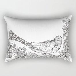 Tree Bird Rectangular Pillow