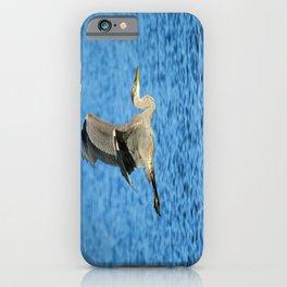 Skimming the lake iPhone Case