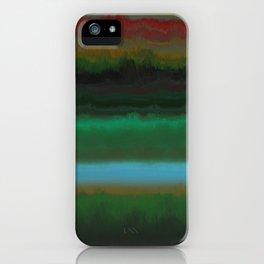 Summer Sunset Landscape iPhone Case