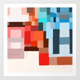 studio 7 abstract contemporary Art Print