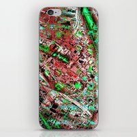 los angeles iPhone & iPod Skins featuring los angeles by donphil