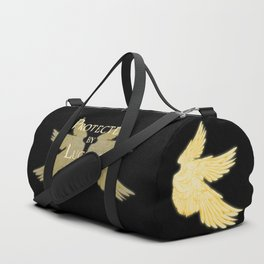 Protected by Lucifer Light Duffle Bag