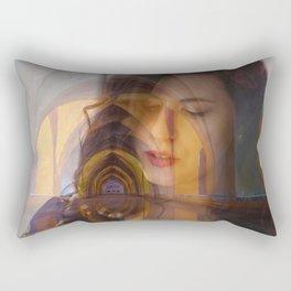 Lisa Marie Basile, No. 84 Rectangular Pillow