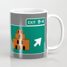 EXIT 8-4 Mug