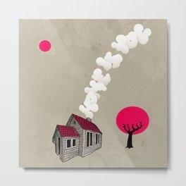Home is you Metal Print