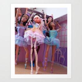 Corpse du Ballet Art Print