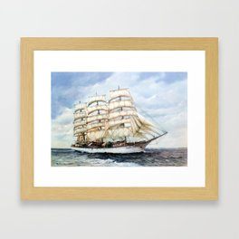Regata Cutty Sark/Cutty Sark Tall Ships' Race Framed Art Print