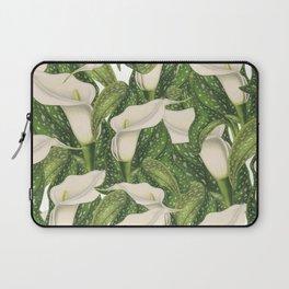 Calla lily flower pattern Laptop Sleeve