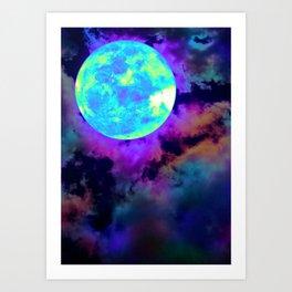 Moonshroud Art Print