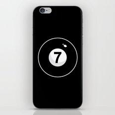 Black Seven iPhone & iPod Skin