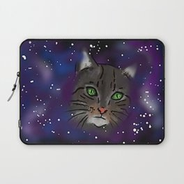 Space Cat - Digital Painting Laptop Sleeve